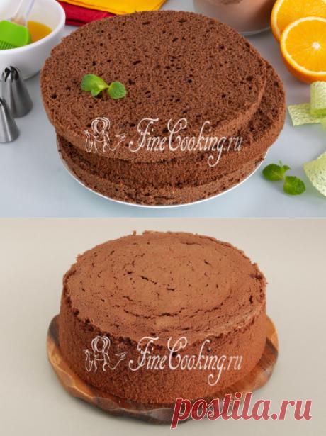 Польский шоколадный бисквит (брошенный) - рецепт