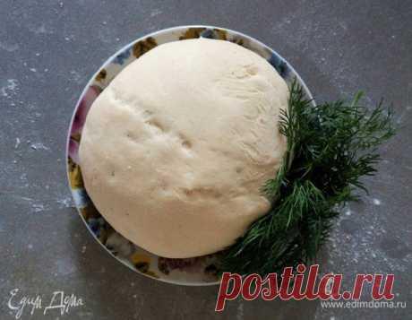 Идеальное тесто для пиццы рецепт 👌 с фото пошаговый   Едим Дома кулинарные рецепты от Юлии Высоцкой