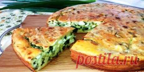 Супер пирог на кефире с яйцом и зеленым луком Продукты: Мука — 270 гр Кефир — 0,4 л Яйцо куриное — 5 сваренных вкрутую в начинку + 2 свежих в тесто; Соль и сахар — по 0,5...