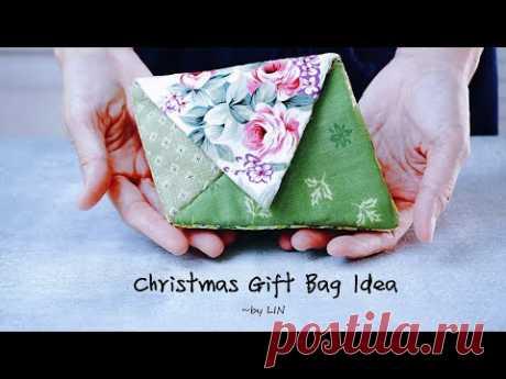 Идея рождественского подарочного пакета 🎁 Универсальный чехол для хранения