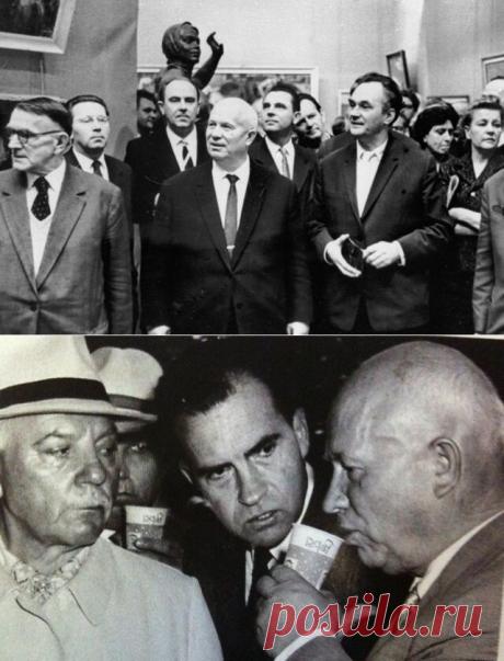Никита Хрущев-лидер СССР, ставший предметом шуток по нескольким причинам | НЕскушные истории | Яндекс Дзен