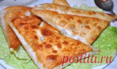 Быстрые пирожки из лаваша с сыром рецепт с фото пошагово