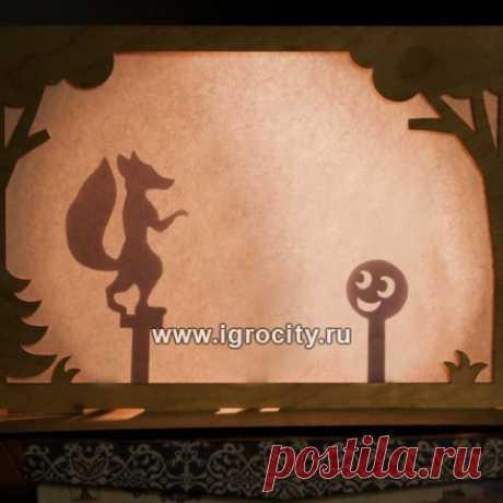 """Театр теневой """"Колобок"""", арт. 2175985 - купить в интернет-магазине Игросити"""