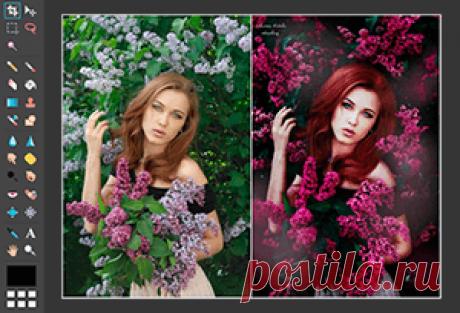 Фотошоп Онлайн / Photoshop Online Фотошоп онлайн позволит вам быстро и эффективно работать с любыми изображениями, а также делать фотомонтаж прямо в окне браузера совершенно бесплатно!