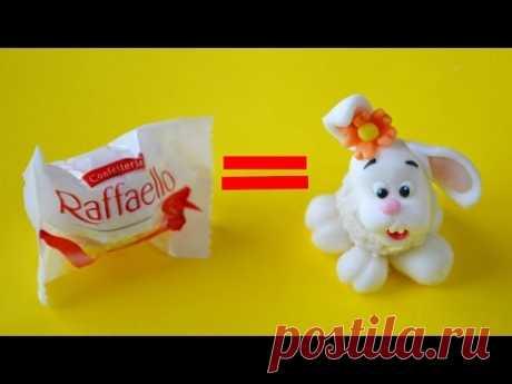 how to make EASTER BUNNY RAFFAELLO CAKE POPS - tutorial coniglietto di Pasqua pasta di zucchero