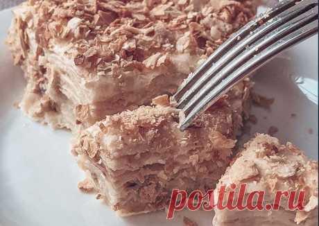 Торт наполеон без выпечки🎂 - пошаговый рецепт с фото. Автор рецепта kozhanchikk . - Cookpad