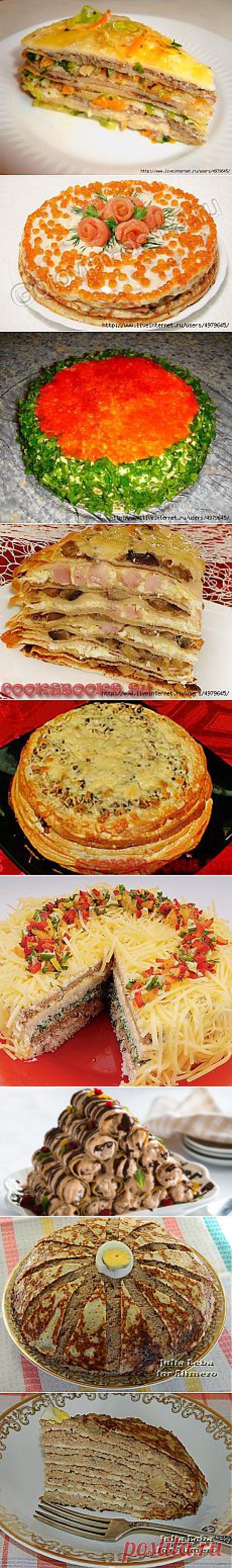 Поиск на Постиле: блинные торты