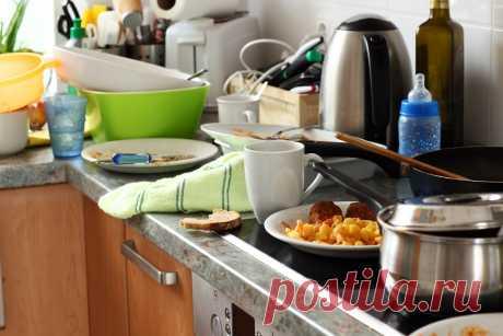 Лайфхаки для уборки кухни, секреты и лучшие советы для быстрой уборки кухни.
