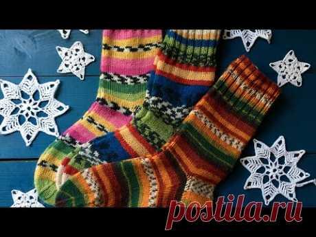 Подарки из Сундучка Мои носки спицами из Nako и Alize Вязание в Краснодаре