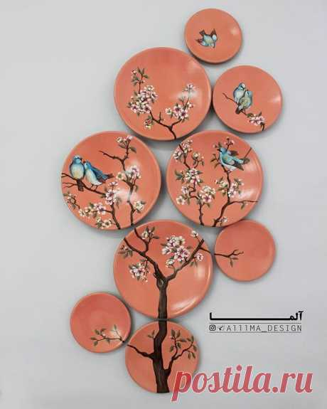 Best 12 👈 تصاویر را ورق بزنيد👈 بشقاب های نقاشی دست سرامیک لیلی (جنس بدنه سرامیک ، نقاشی زیر لعابی ، قابل شست وشو) بشقاب های قطر ۲۰سانتیمتر ۶۳… – SkillOfKing.Com