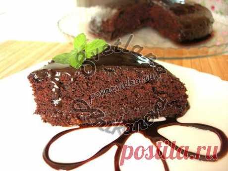 Супер Влажный ШОКОЛАДНЫЙ ТОРТ без Яиц. Бюджетный торт!
