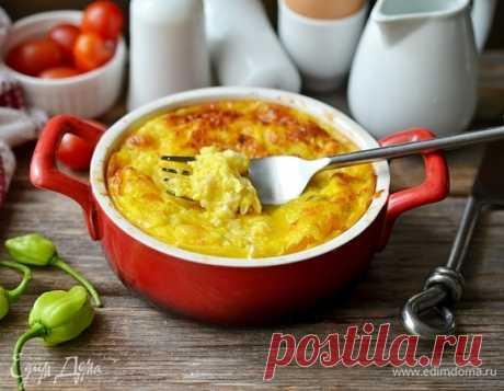 Как приготовить Омлет с кабачком и сыром Пошаговый рецепт с ингредиентами и фото