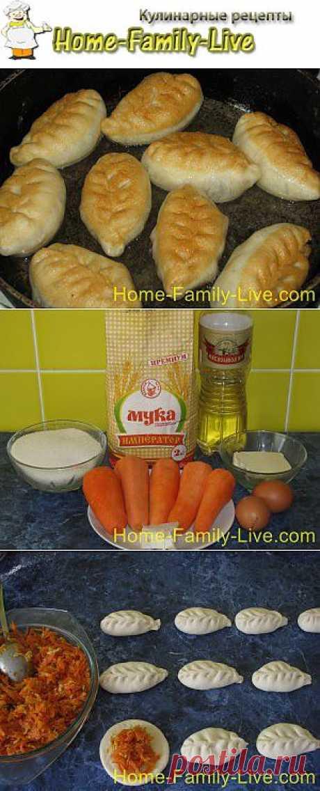 Пирожки с морковкой - пошаговый фоторецепт пирожков с морковкой | Кулинарные рецепты