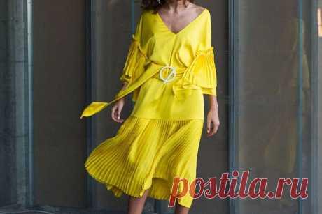 Лимонный цвет: желтые вещи, которые будут в моде этим летом