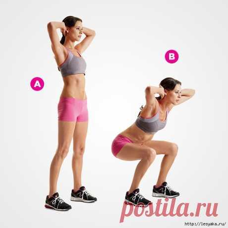 4 минуты фитнеса, вместо часа в спортзале!