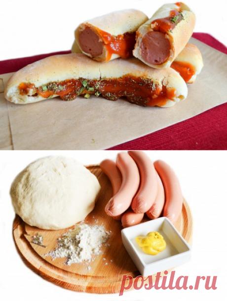 Домашние хот-доги | Готовим Смакуем | Яндекс Дзен