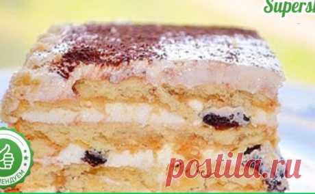 Великолепный торт с начинкой без выпечки - ВотТакТак