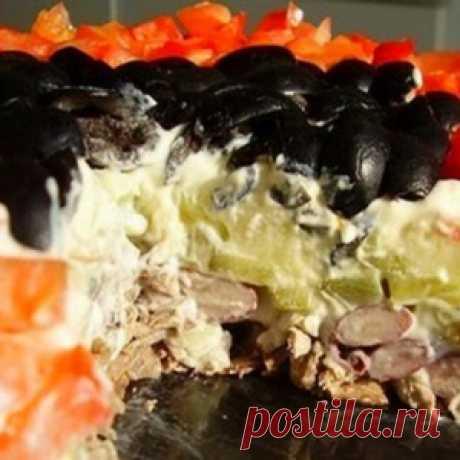 Салат «Коварство и любовь»: Блюдо № 1 на моем новогоднем столе! - МирТесен