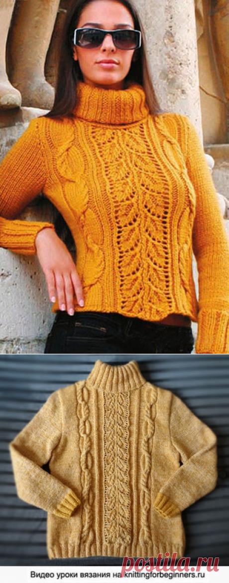 Начинаем вязать – Видео уроки вязания » Как связать свитер спицами?