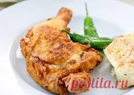 Жареная курица в пряном кефирном соусе - LoveEat - Гастрономическая Социальная Сеть