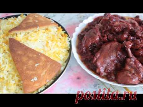 ПЛОВ с ВИШНЕЙ! Азербайджанская Кухня! /Albali Plovu /Cherie Pilaf