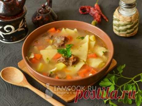 Манчиза — рецепт с фото Проверенный рецепт узбекского супа с галушками (клецками). Манчиза из говядины готовится в казане. Подается на обед в суповых пиалах.