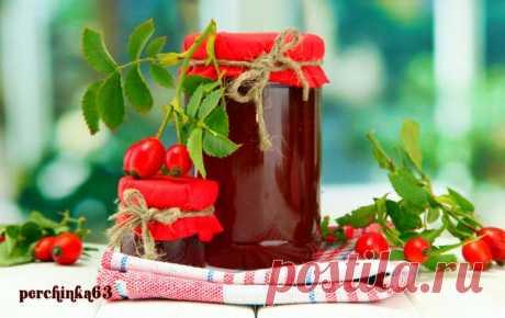Сироп из плодов шиповника - 5 рецептов