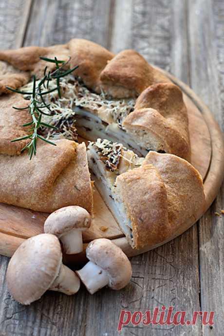 Картофельно-грибная галета с розмарином - Рыжая книга кухонных пределов — LiveJournal