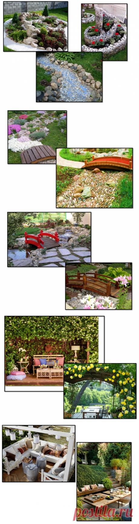 10 оригинальных идей для вашего сада. Легко, своими руками и без особых затрат! | Виктория Биолог | Яндекс Дзен