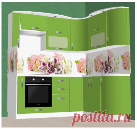 Угловая кухонька - маленькая, но вместительная: фото + обзор