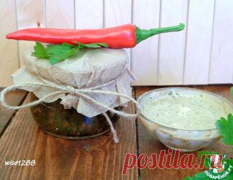 Пряная приправа из петрушки – кулинарный рецепт
