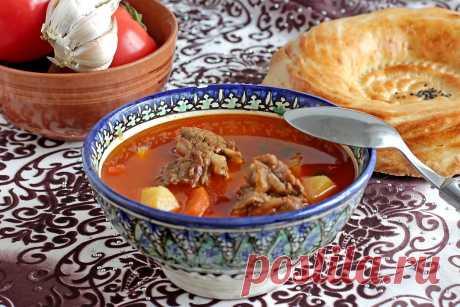 Узбекский суп жареная шурпа в домашних условиях.   Домашний ресторан. Рецепты   Яндекс Дзен
