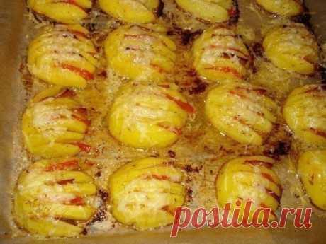 Вкуснота! Картофельные ракушки — Едим дома