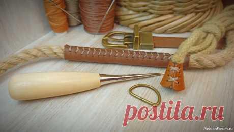 Как сделать накладки на ручки из натуральной или искусственной кожи..