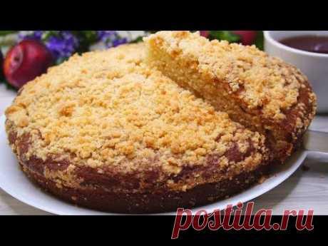 Пирог на кефире с крошкой - запись пользователя kalnina в сообществе Болталка в категории Кулинария
