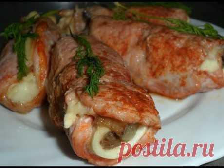 Свиные рулетики с сыром - рецепт от Inga Avak