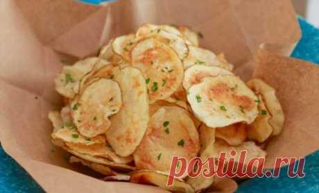 Картошку в микроволновку: за минуту делаем чипсы вкуснее чем из магазина . Милая Я