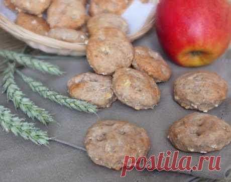 Печенье с бананами и яблоками — Sloosh – кулинарные рецепты
