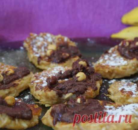 Яблочно-банановые оладьи / Видео-рецепты / TVCook: пошаговые рецепты с фото
