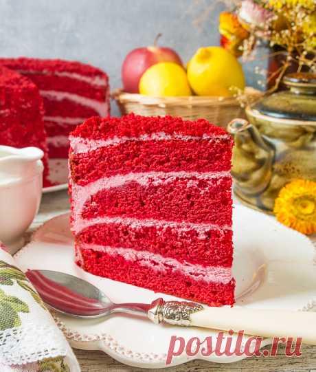 """Торт """"Медведь в малиннике"""" на Вкусном Блоге"""