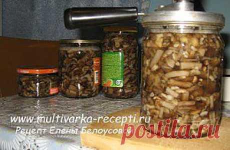 Маринованные грибы в мультиварке |