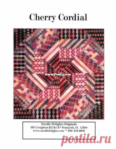 Needle Delights Originals - Cherry Cordial - Needlepoint-Другое Hand Works Связь / Загрузка (Не могу опубликовать только новую тему) - Другие ресурсы по ручным работам | Magazines-PinDIY.com
