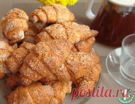 Творожные рогалики – кулинарный рецепт