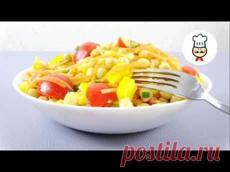 Полноценный ужин БЕЗ МЯСА. Полезная и вкусная еда. Сытный салат из НУТа - YouTube Сегодня готовлю салат с нутом. Обожаю его, за простоту и доступность. А еще он не только вкусный, но и полезный. Использовать можно как отвареный, так и консервированный нут. Скоро начнется Великий Пост и этот салат займет достойное место на столах тех, кто придерживается. Обязательно приготовьте. Это ОЧЕНЬ ВКУСНО!!!