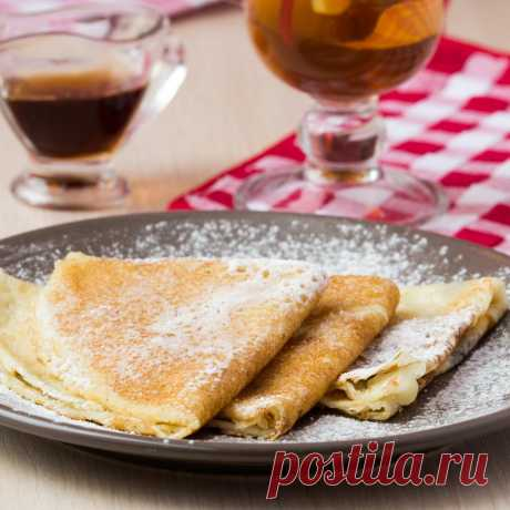 Готовим кружевные блинчики на молоке | Еда от ШефМаркет | Яндекс Дзен