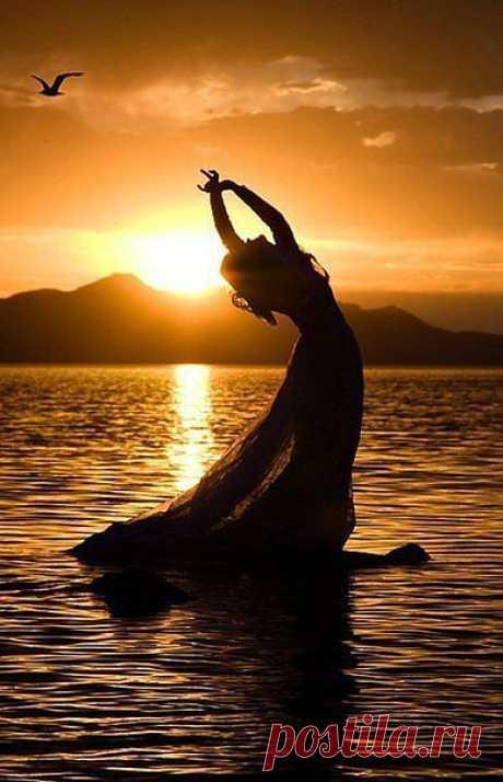 Будьте себе светом — спокойными, ясными, яркими... (+ музыка - релакс).