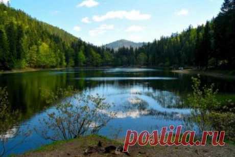 Озеро Синевир – самое большое озеро Украинских Карпат