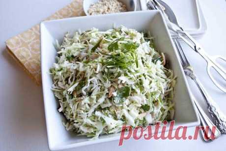 Салат для сушки тела. Идеальный ужин!