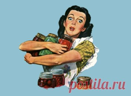 55% россиян делают заготовки, чтобы экономить на питании 🍒