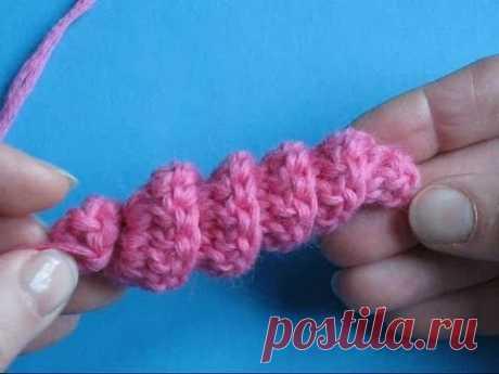Вязание крючком - Урок 29 Спиральное вязание